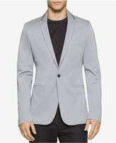 Calvin Klein One Men's Slim-Fit Sateen Blazer
