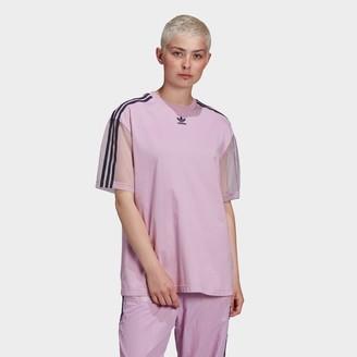 adidas Women's Mesh Sleeve T-Shirt