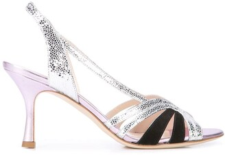 Gia Couture Textured Sandals