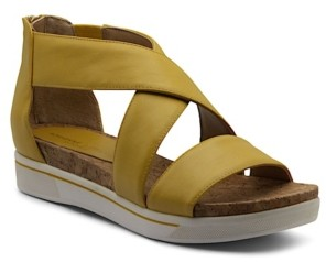 Adrienne Vittadini Women's Claud Sport Flatform Sandals Women's Shoes