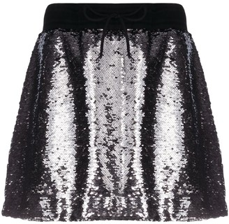 Golden Goose Lilly sequin-embellished mini skirt