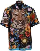 Dolce & Gabbana Silk Print Shirt
