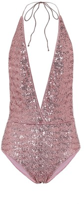 Osã©Ree Exclusive to Mytheresa a Paillettes swimsuit