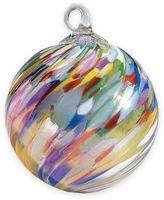 Glass Eye Studio 3-Inch Hand Blown Glass Circus Twist Ornament
