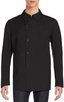Allegri Men's Asymmetrical Button-Front Coat