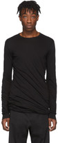 Rick Owens Black Double Long Sleeve T-Shirt