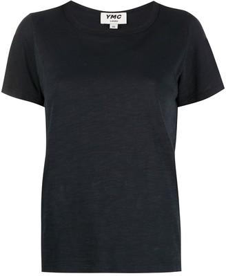 YMC short sleeved burnout T-shirt