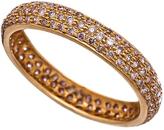 Sethi Couture Diamond Pave Rose Gold Ring