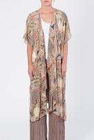 Umgee USA Multicolor Long Kimono