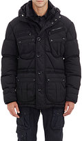 Ralph Lauren Black Label Men's Quilted Hooded Parka-BLACK