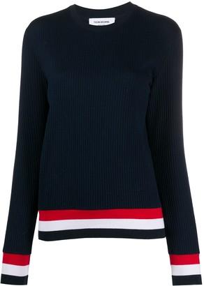 Thom Browne 4-Bar Knitted Jumper