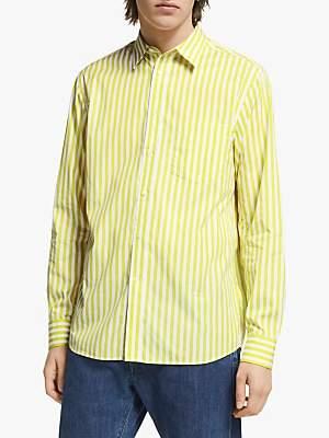 J. Lindeberg Daniel Striped Cotton Shirt, Acid Dreams