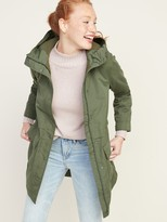 Old Navy Water-Resistant Hooded Rain Jacket for Women