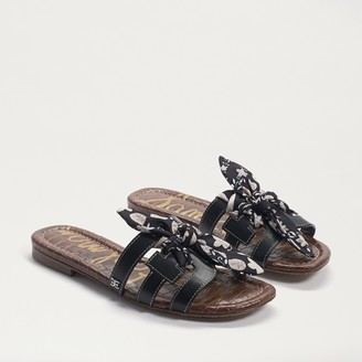 Bay 12 Silk Bow Slide Sandal