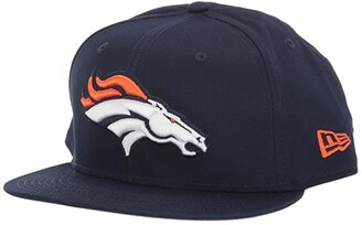 New Era NFL Basic Snap 9FIFTY Snapback Cap - Denver Broncos (Blue 1) Caps