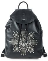 Black Leather Backpack With Studs - ShopStyle