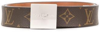 Louis Vuitton Ceinture Carre buckle belt