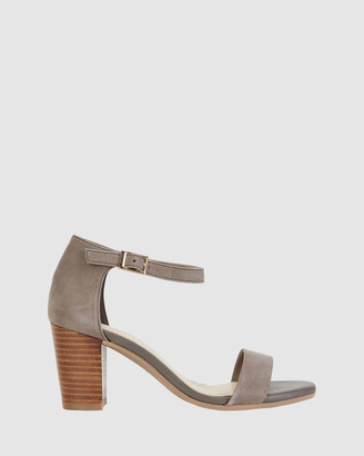 Sandler - Women's Grey Heeled Sandals - Beyond - Size One Size, 37 at The Iconic