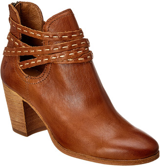 Frye Naomi Pickstitch Leather Shootie