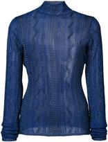 Ronny Kobo fine knit jumper