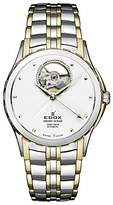 Edox Women's 85013 357J Aid Grand Ocean Analog Display Swiss Automatic Two Tone Watch