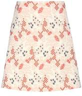 Vanessa Bruno Cotton-blend jacquard miniskirt