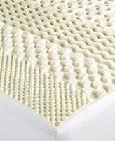 Martha Stewart Collection Martha Stewart Essentials 7-Zone Queen Memory Foam Mattress Topper, Created for Macy's