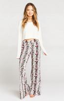 MUMU Fiesta Flare Pant ~ Rosie Rows Thermal