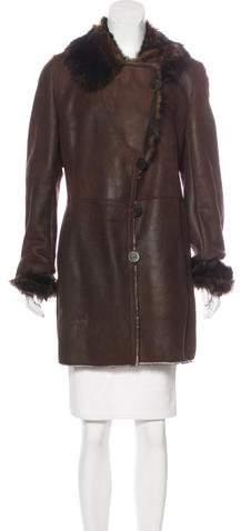 Blue Duck Shearling Suede Coat