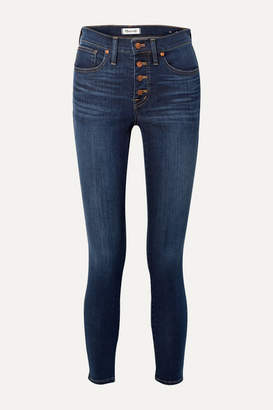Madewell Mid-rise Skinny Jeans - Dark denim