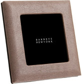 "Barneys New York Shagreen-Embossed Studio 4"" x 4"" Picture Frame"