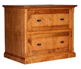 Ivey 2-Drawer Lateral Filing Cabinet Loon Peak Color: Antique Alder