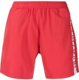Boss Hugo Boss logo print swim shorts