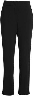 Giorgio Armani Stretch Wool-Blend Crepe Trousers