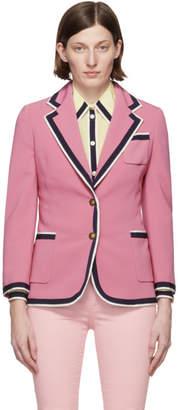 Gucci Pink Cady Blazer