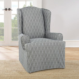Sure Fit Strand Waverly Armchair Slipcover