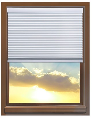 Linen Avenue Custom Cordless 34 to 35-inch Wide Crystal Blackout Cellular Window Shade