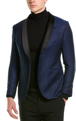 Lubiam Smoking Wool & Silk-Blend Tuxedo Jacket
