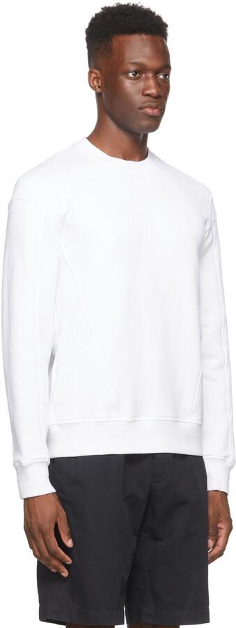 Thumbnail for your product : Ermenegildo Zegna Couture White Logo Sweatshirt