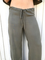 Tysa Drawstring Pant in Olive