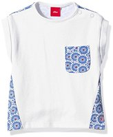 S'Oliver Baby Girls' Mit Alloverprint Short Sleeve T-Shirt