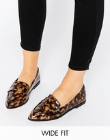 Asos MARIKA Wide Fit Flat Shoes