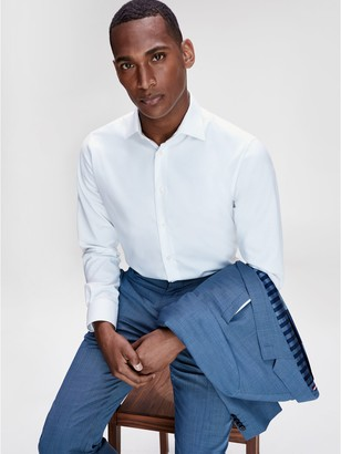 Tommy Hilfiger Regular Fit TH Flex Collar Dress Shirt