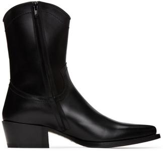 DSQUARED2 Black Arizona Ankle Boot