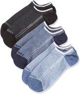 Diesel Men's Gost-Threepack-Underdenim Casual Socks, Black/Denim