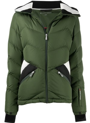 Perfect Moment Panelled Detail Padded Jacke