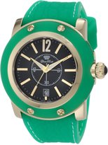 Glam Rock Women's GR30019GGF Miami Dial Green Silicone Watch
