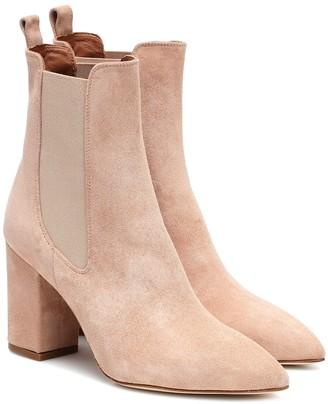 Paris Texas Suede ankle boots