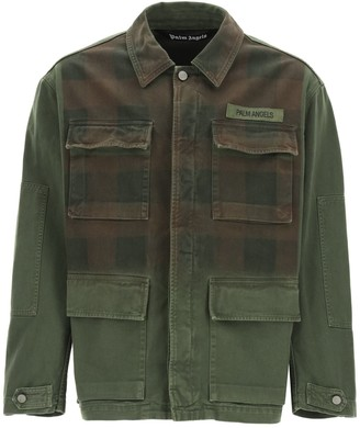 Palm Angels Buffalo Military Jacket