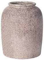 LOMBOK Dobrak Ceramic Bottle Vase In Fawn